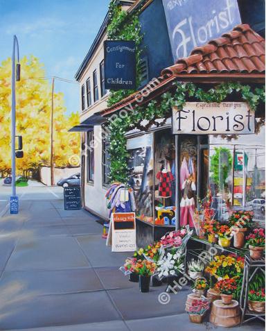 Fall Florist Shop