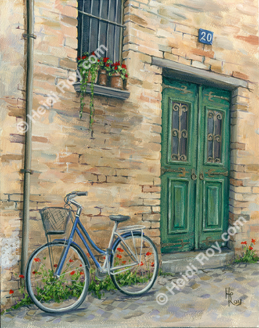 Bicycle in the Alley